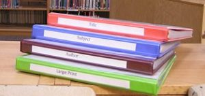 Trinity Lutheran - Library Catalog Binders