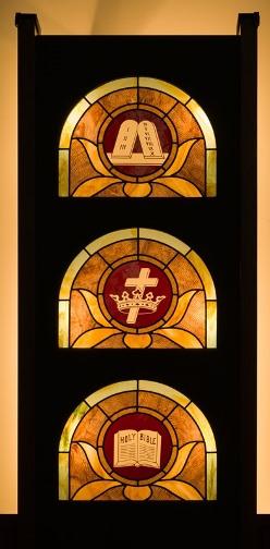 Stained Glass Window Trinity History
