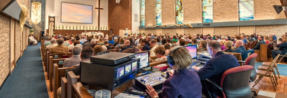 Trinity Lutheran Church - Sound Booth